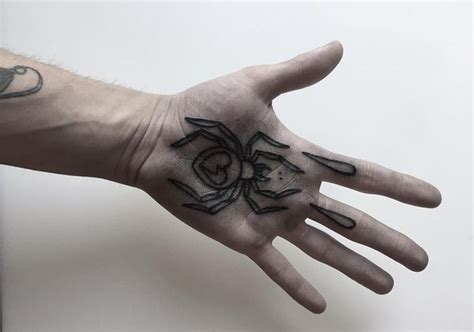 spider tattoo on right hand 31 spider tattoo designs with meaning