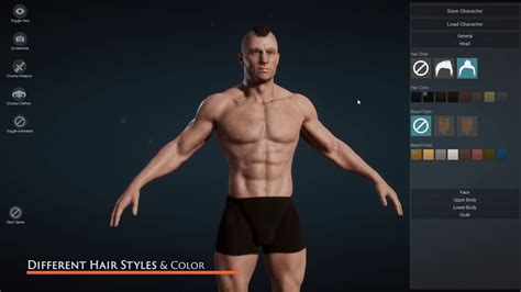 make create a person virtual people character games ue4 character creator create custom character in
