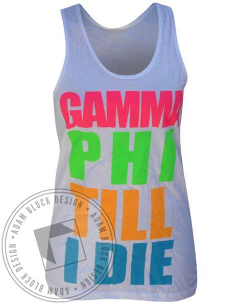 gamma phi beta colors gamma phi beta colors tank adam block design