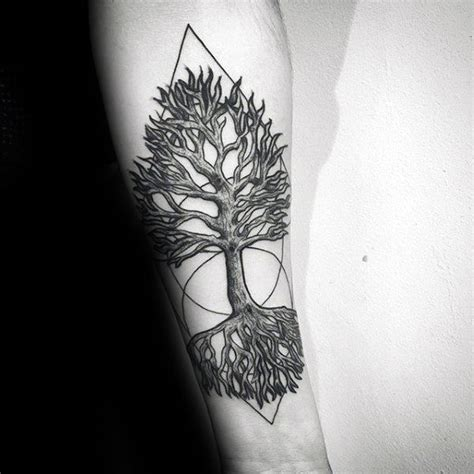 63 fabulous tree roots tattoos designs inked by famous