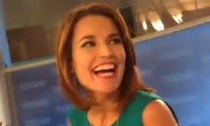 savannah guthrie hair color savannah guthrie debuts red hair on today show ditches