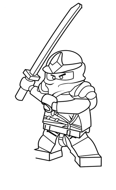 ninjago coloring pages kai az coloring pages