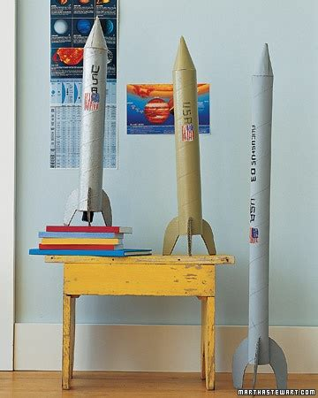 How To Make Rocket Out Of Paper - make your own cardboard rocket