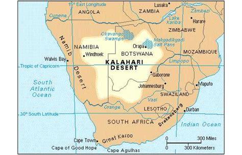 kalahari desert map to smell the roses the kalahari desert