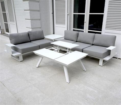 salon de jardin aluminium 421 best salon de jardin blanc coussin gris ideas amazing