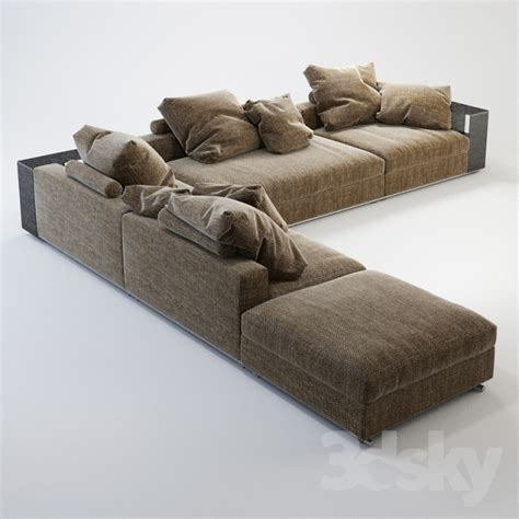 flexform groundpiece sofa 3d models sofa flexform groundpiece
