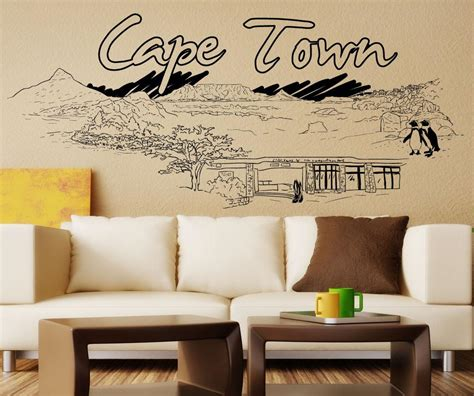 Window Decals Cape Town by Vinyl Wall Decal Sticker Cape Town 1421