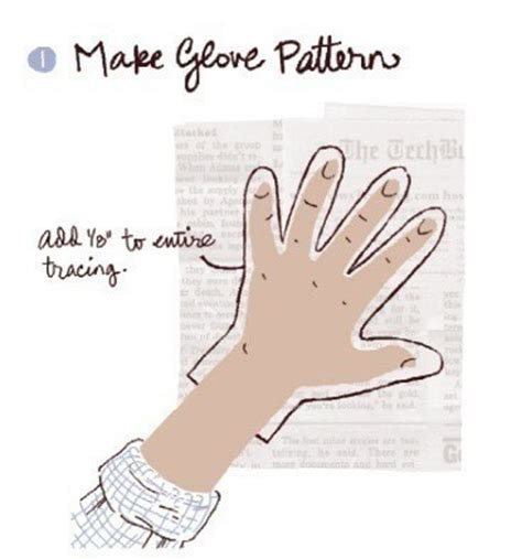How To Make Gloves Out Of Paper - gardening gloves 183 extract from weekend sewing more