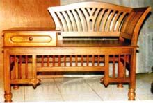 Sofa Angsa jepara furniture telephone table sofa