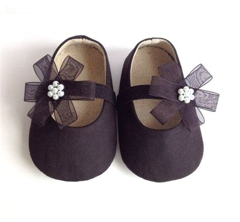 black shoes for baby black baby shoes baby shoes baby booties flower