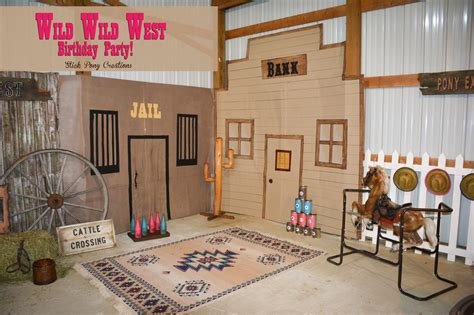 Wild West Home Decor by Stick Pony Creations Wild Wild West Party Our Cowgirl S