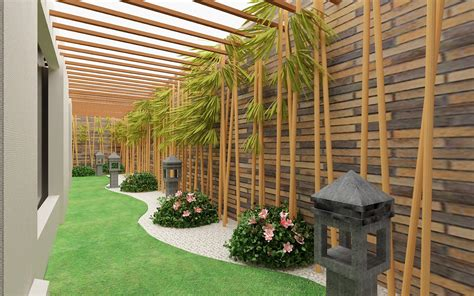 homecoid garden desain taman berkonsep minimalis  rumput sintetis