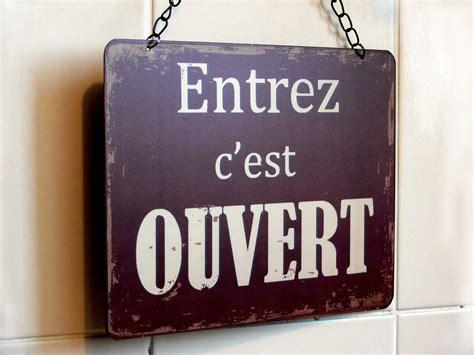 Magasin Deco Ouvert Le Dimanche by Plaque Ouvert Ferm 233 D 233 Co R 233 Tro Sphere Inter 7550