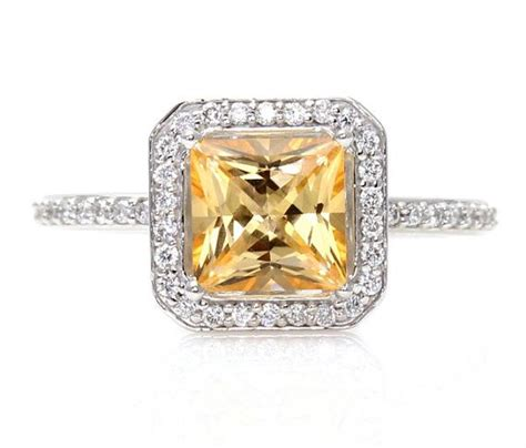 topaz citrine engagement rings the one guide