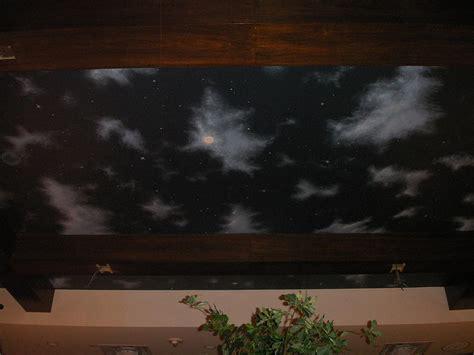 paint nite rockville md la tasca sky mural rockville md painting by matt mercer
