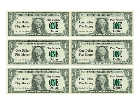 download printable fake money 8 best images of fake play money printable free