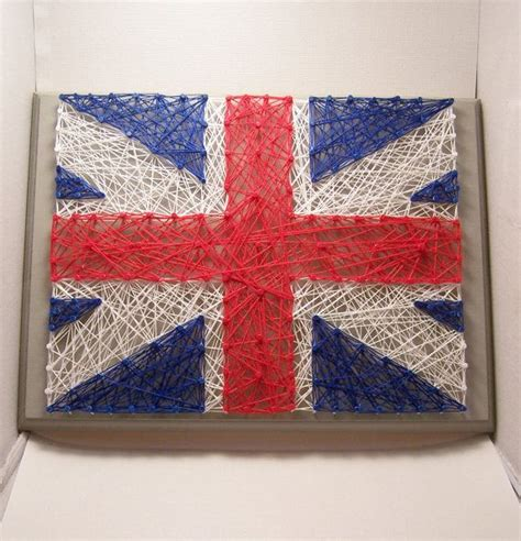 Handmade Britain - 1000 ideas about flag nails on flag