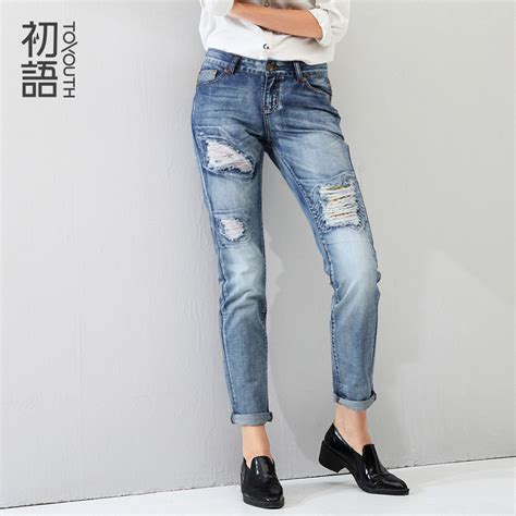 pattern of jeans toyouth 2016 new jeans vintage girls jeans woman jeans