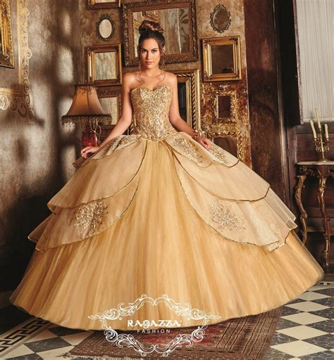 Labella Pink Top Dress embellished a line quinceanera dress by ragazza fashion