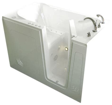 ada compliant bathtubs 30 quot x54 quot walk in ada compliant bathtub contemporary