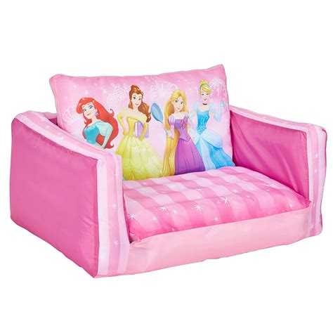 disney princess sofa chair disney princess inflatable flip out mini sofa and lounger
