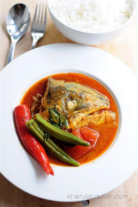 Minyak Ikan Buat Ayam Aduan resepi mudah kari kepala ikan salmon khairul abdullah