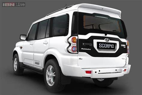 mahindra bolero top model 2014 unveiled the new mahindra scorpio auto photos ibnlive