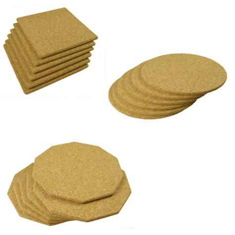 Table Mats by 6 Cork Table Mats 20cm Cork Table Mats Set 6