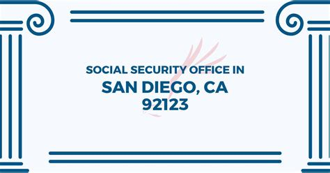 Social Security Office In San Diego by Social Security Office In San Diego California 92123