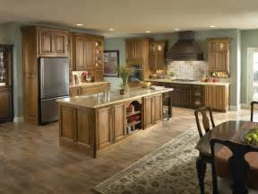 kitchen wall colors with light wood cabinets 53 charming kitchens with light wood floors page 2 of 11