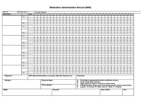asthma medication chart sample pdf template 2145 x 1659 free