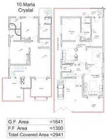 How To Draw House Plans On Computer 10 Marla House Plans Civil Engineers Pk