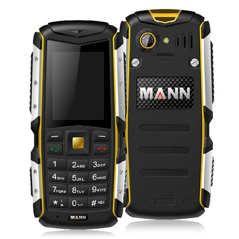 mann zug s ip67 waterproof rugged phone dual sim cards gsm