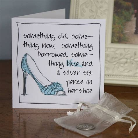 sixpence in shoe a silver sixpence in shoe card