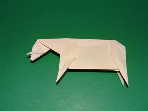 Origami Sheep Diagrams - how to make an origami sheep
