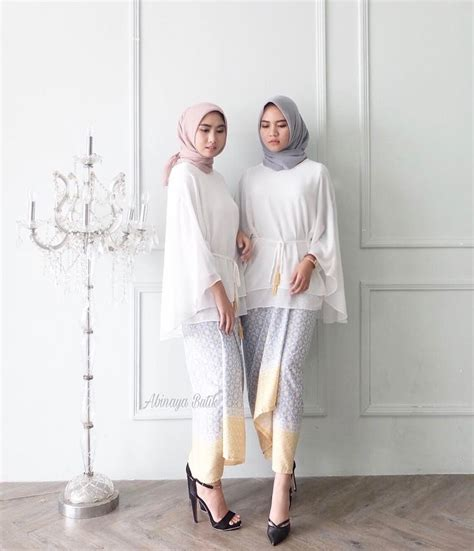 hawa blouse abinaya butik best 25 kebaya muslim ideas on dress