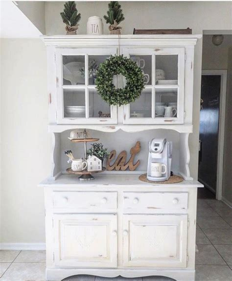 kitchen hutch decorating ideas 25 best ideas about hutch decorating on