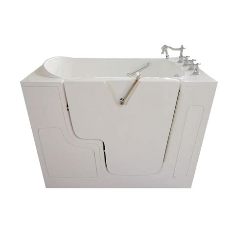 wheelchair accessible bathtubs ella wheelchair access 4 33 ft x 32 in whirlpool bathtub