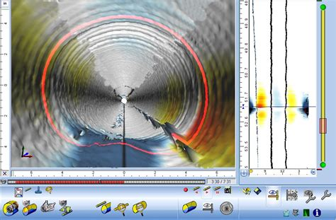 electrical wiring conduit layout laser pipe profiler imagery maverick inspection