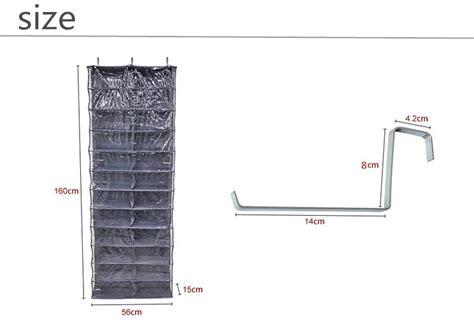 26 pocket shoe rack storage organizer holder hook folding 26 pocket shoe rack storage organizer holder folding