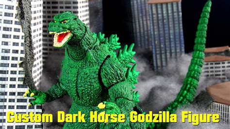 custom sh monsterarts dark horse marvel comic godzilla