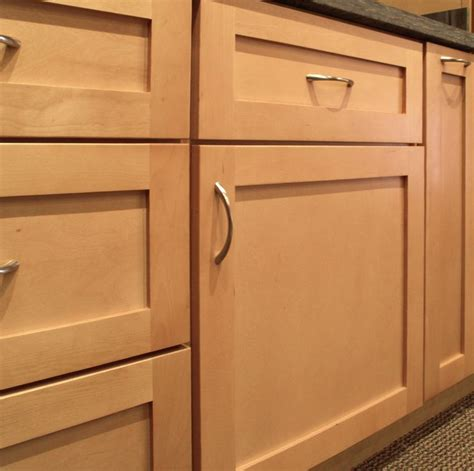 door fronts for kitchen cabinets sonoma natural maple shaker style door features a 5 piece drawer front opposed to a slab