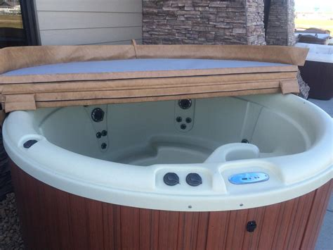 Nordic Spa Tub outdoor whirlpool spa crown nordic tub backyard design ideas