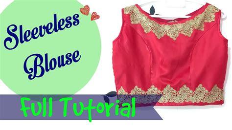 boat neck blouse with zipper boat neck sleeveless blouse side zipper youtube
