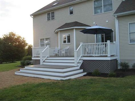 Flooring How To Pick The Right Deck Patio Material Deck Decking Ideas Designs Patio