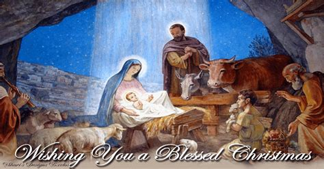 wishing   blessed christmas