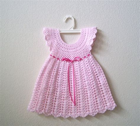 Dress Da300 crochet baby dress baby crochet dress