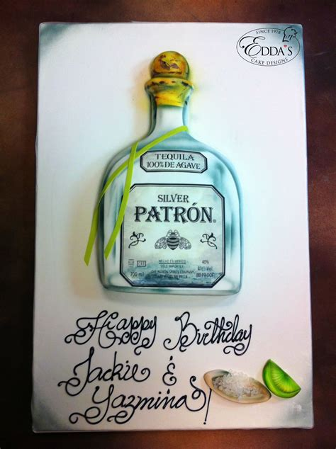 birthday tequila patron tequila birthday cake http
