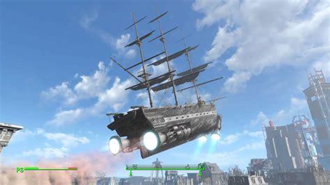 nave volante fallout 4 la nave volante