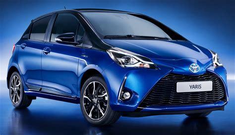 New Yaris 2017 toyota yaris hybrid is unveiled push evs